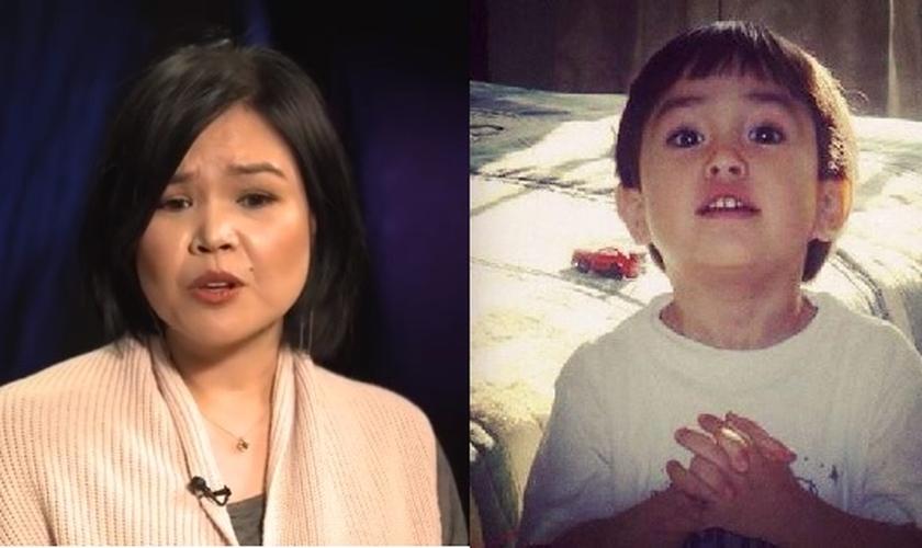 Shirley Ruffy (esquerda) perdeu seu filho Joshua em uma tragédia que chocou o país. (Foto: