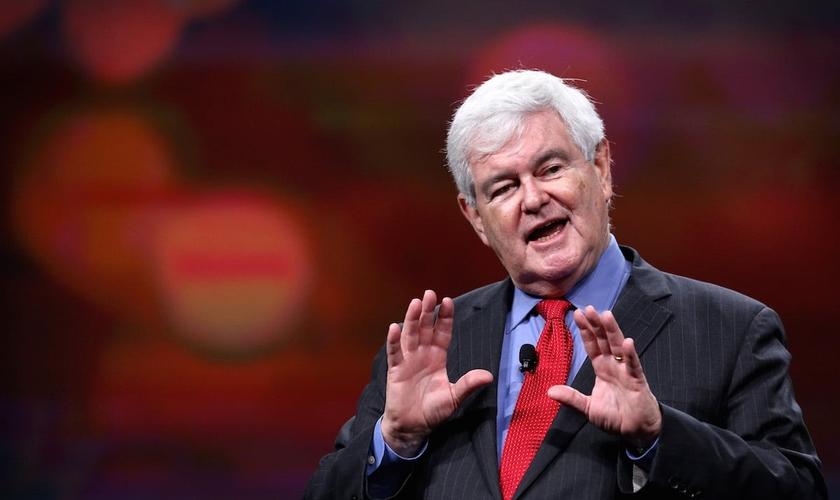 Newt Gingrich é republicano, cristão e foi presidente da Câmara dos EUA. (Foto: Time Magazine)