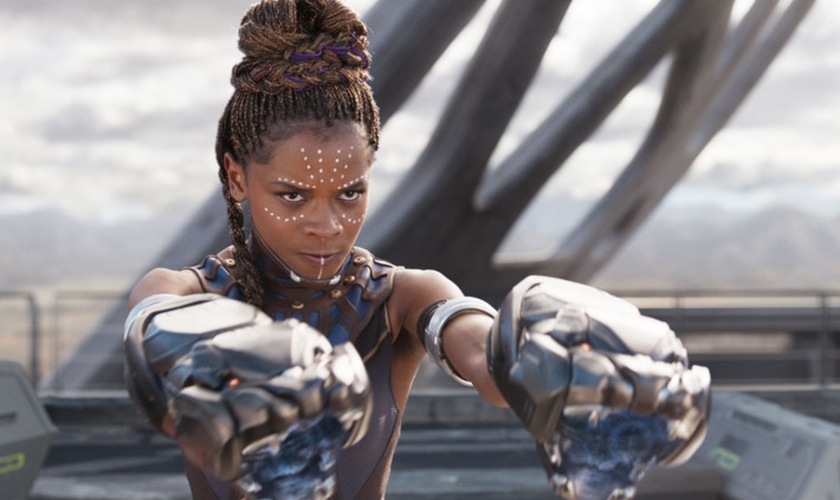 "Letitia Wright interpretou Shuri no filme ""Pantera Negra"". (Foto: Marvel Entertainment)"