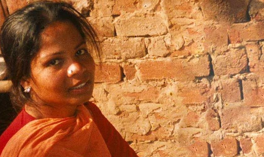 Asia Bibi se encontra no corredor da morte desde 2010. (Foto: Reprodução).
