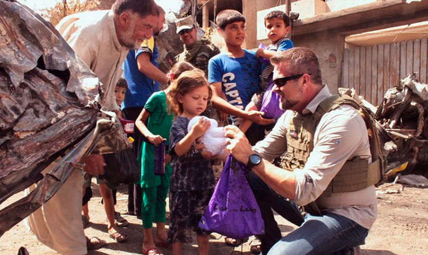 Desde 2014, ele começou a realizar missões no Iraque, na Síria, na Nigéria e no Camboja. (Foto: Reprodução).