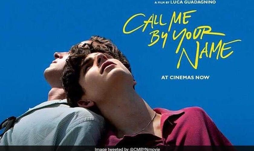 """""""Call Me By Your Name"""" conta a história de um relacionamento homossexual entre um adolescente e um adulto. (Imagem: Swirlster - NDTV.com)"""