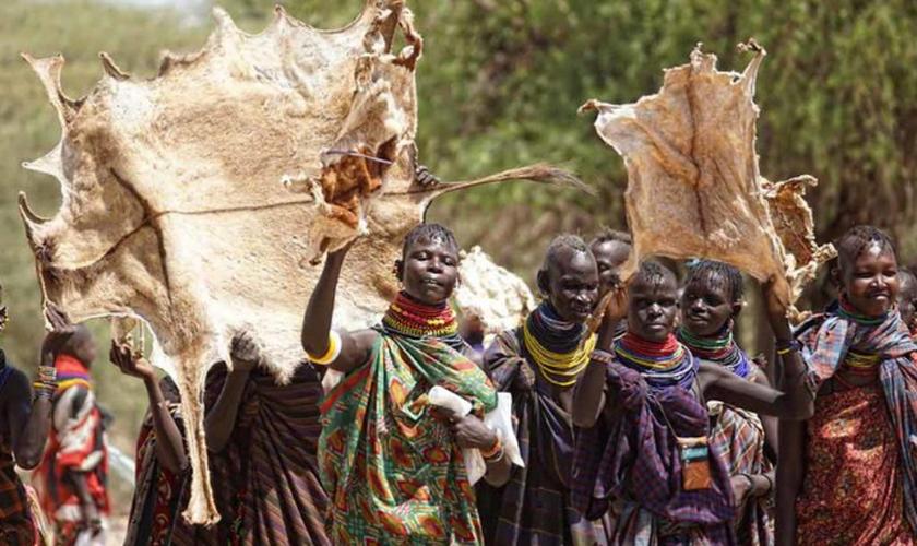 Há 15 anos, a tribo só tinha 2% de cristãos. Hoje, quase metade já se entregou a Jesus. (Foto: Reprodução).