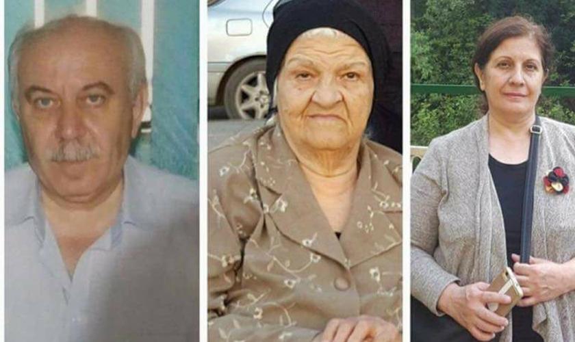 Os homens invadiram a casa e mataram um médico cristão, sua esposa e sua mãe, uma mulher idosa. (Foto: Reprodução).