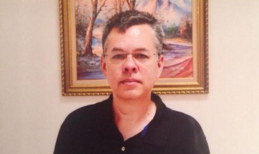 Pastor Andrew Brunson está preso na Turquia. (Foto: ACLJ)