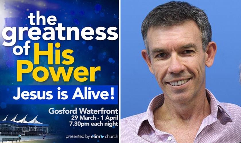 """O anúncio original da igreja dizia: """"A grandeza de Seu poder. Jesus está vivo!"""". (Foto: Reprodução/Daily Mail)"""
