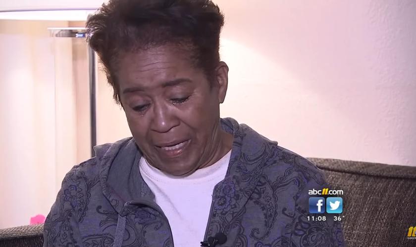 A fé e a determinação de Shirley tem inspirado vidas. (Foto: Reprodução).