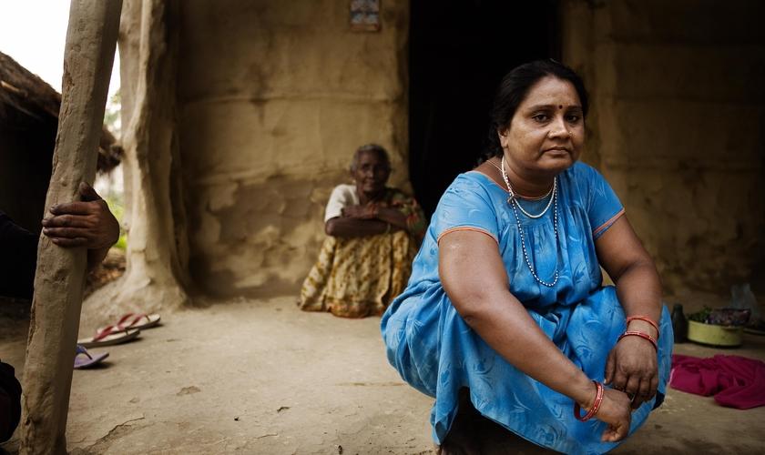 Imagem ilustrativa. Os dalits, a casta mais baixa do sistema hindu, vivem em condições precárias. (Foto: Jakob Carlsen)