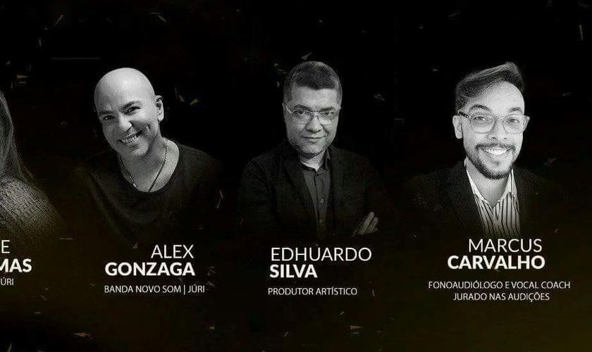 A final contará com Gleide Damas, Alex Gonzaga, Marcus Carvalho e Edhuardo Silva, no juri. (Foto: Divulgação).
