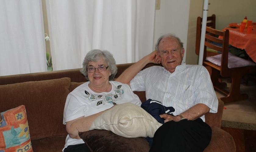 Patrícia foi casada com o pastor Russell Shedd durante 59 anos e foi essencial em seu ministério. (Foto: Reprodução)