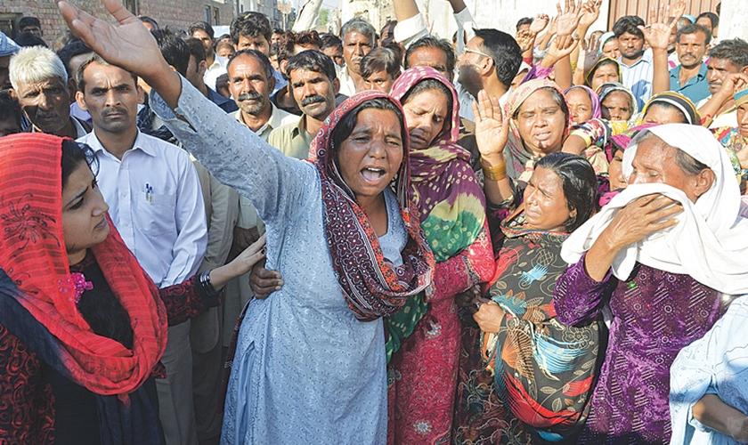 O assassino matou a idosa por ela ter deixado os deuses hindus para seguir Jesus Cristo. (Foto: Reprodução).
