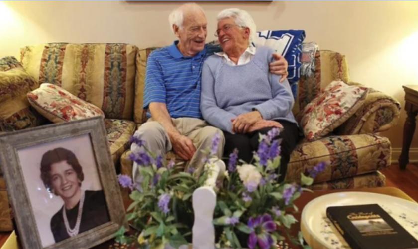Harold Holland, 83, e Lillian Barnes, 78, se casaram em 24 de dezembro de 1955, mas se divorciaram anos depois. (Foto: Herald Leader)