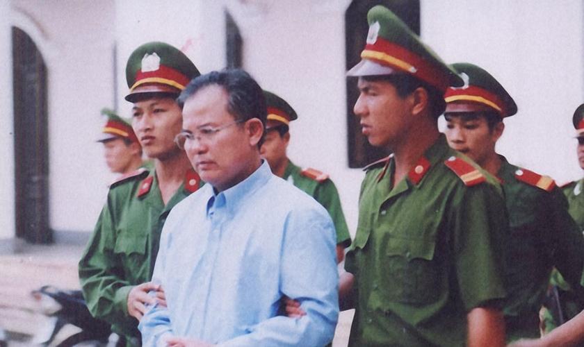 O pastor Nguyen Cong Chinh foi libertado após pressão da comunidade internacional. (Foto: Release International)