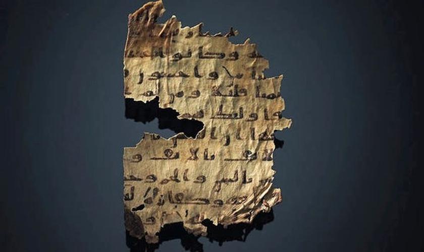 Um estudioso encontrou palavras da Bíblia por trás das árabes. (Foto: Express)
