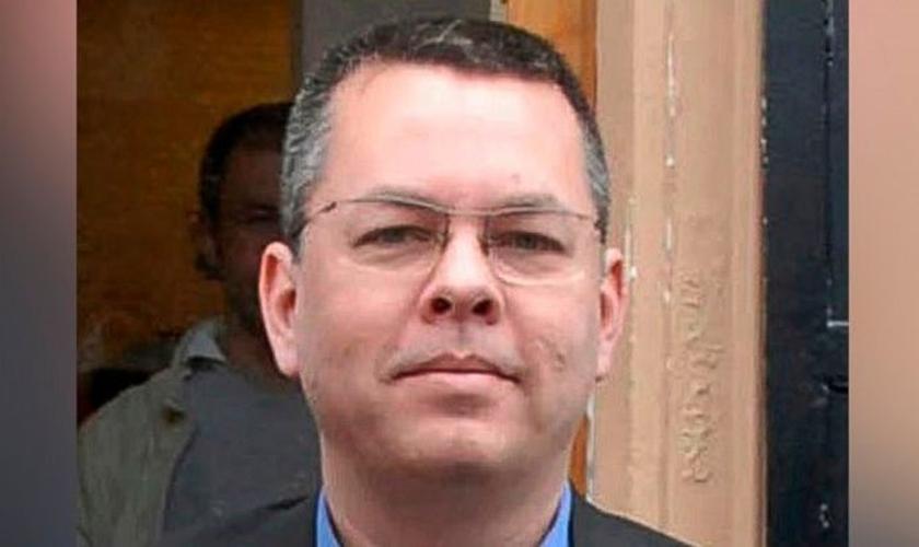 Pastor Andrew Brunson está preso na Turquia. (Foto: ABC News)