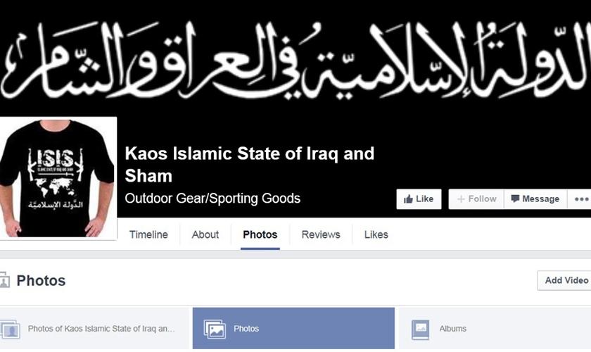 Perfil de jovem no Facebook expõe suas preferências e apoio ao grupo terrorista Estado Islâmico. (Foto: