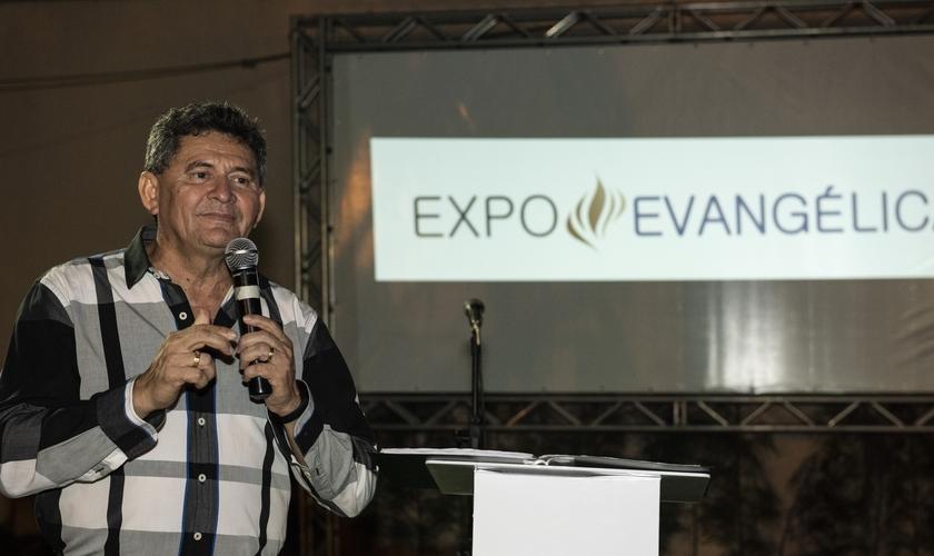 Francisco Everton, o presidente da Expoevangélica. (Foto: Panela).