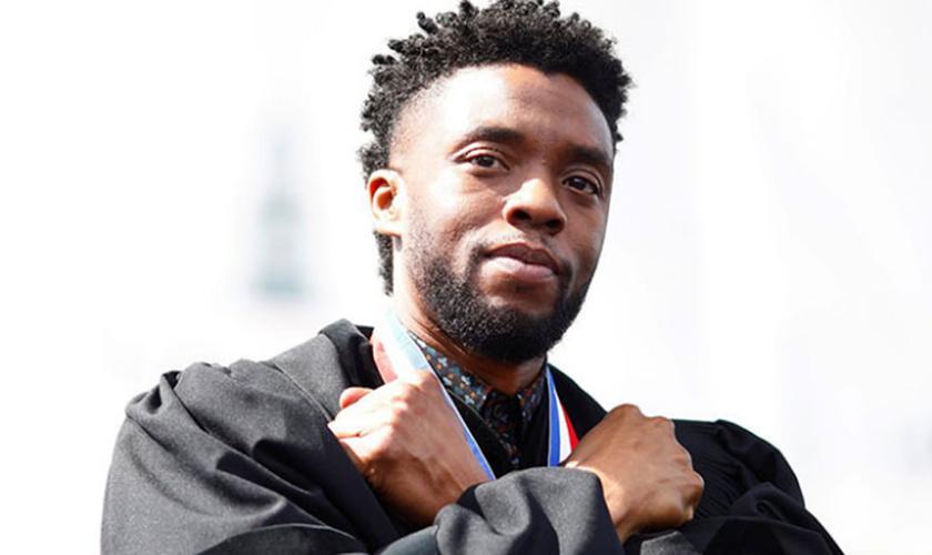 Chadwick Boseman, ator do filme Pantera Negra. (Foto: Reuters).