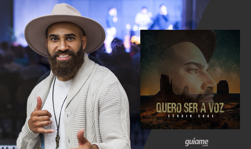 Referência entre as vozes da soul music gospel nacional, Sérgio completa 40 anos de vida. (Foto: Divulgação).