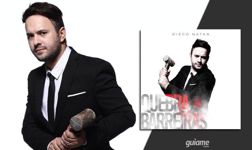 """Nos próximos dias  Diego Natan lançará o videoclipe da canção """"Quebra As Barreiras"""". (Foto: Divulgação)."""