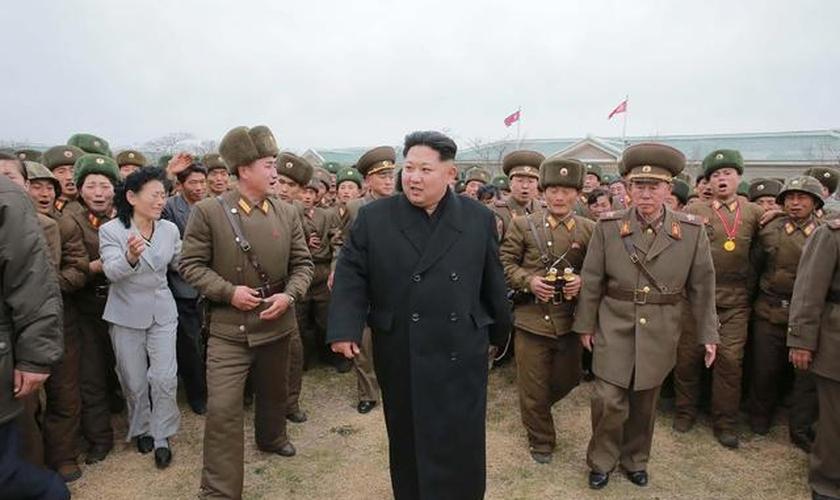 Kim-Jon Un, ditador da Coreia do Norte. (Foto: US News & World Report)