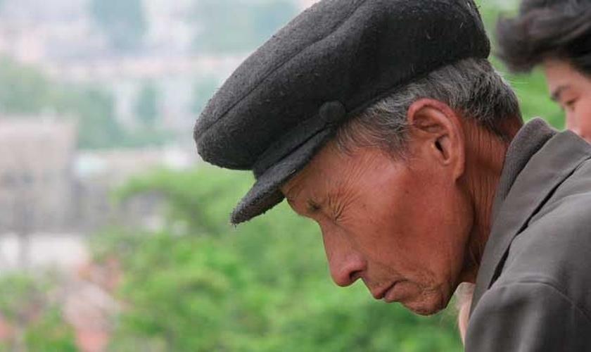 Norte-coreano. (Foto: Portas Abertas)