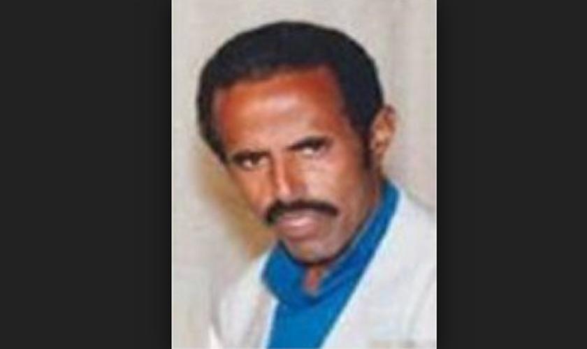 O pastor Haiminot precisou de cuidados médicos após sua libertação. (Foto: Reprodução).