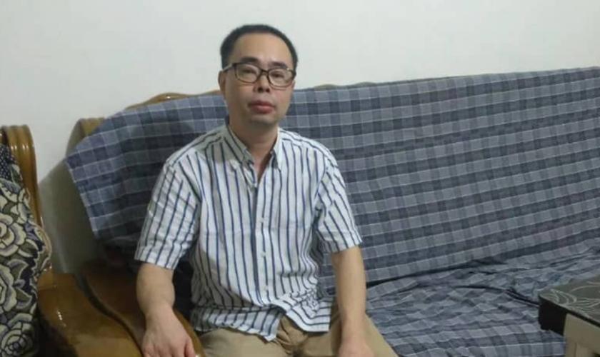 O pastor Yang Hua precisa urgentemente de assistência médica para vários problemas de saúde. (Foto: Reprodução).