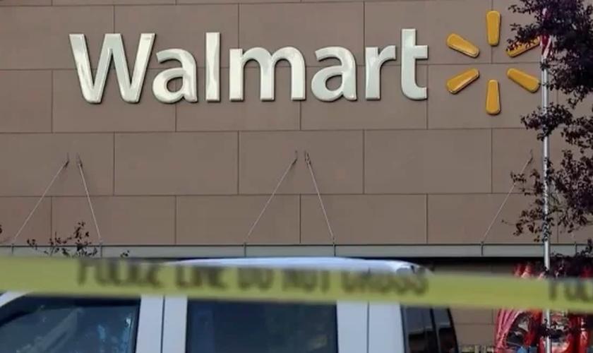 O atirador feriu clientes de uma loja da rede de supermercados Walmart, em Tumwater. (Foto: Reprodução)
