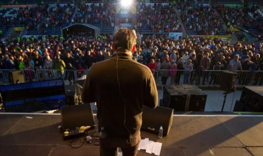 O evento contou com a presença de mais de 9 mil pessoas. (Foto: BGEA).