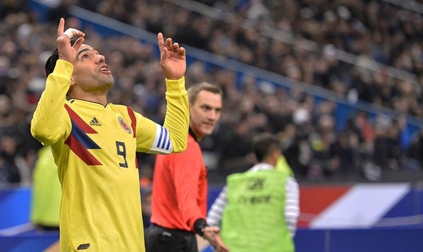 Radamel Falcao, jogador do Monaco considerado o melhor artilheiro da Colômbia. (Foto: Aurelien Meunier/Getty Images)