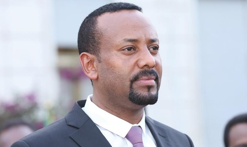 Abiy Ahmed é cristão e tem chamado atenção do povo etíope por suas decisões. (Foto: Reprodução)