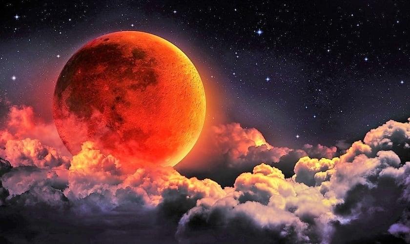 Lua de Sangue deve reaparecer em julho e será o mais longo eclipse lunar total do século. (Foto: Hiper Cultura)