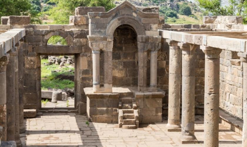 Betsaida também é o local onde Jesus alimentou 5 mil pessoas. (Foto: Reprodução)