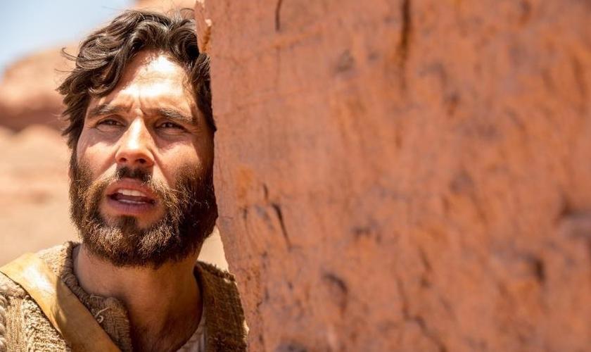 Dudu Azevedo irá interpretar Jesus na novela da Record. (Foto: Edu Moraes/Record TV)