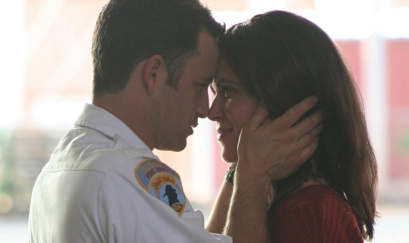 O filme estrelou Cameron e Erin Bethea e foi o terceiro filme de Alex e Stephen Kendrick. (Foto: Reprodução).