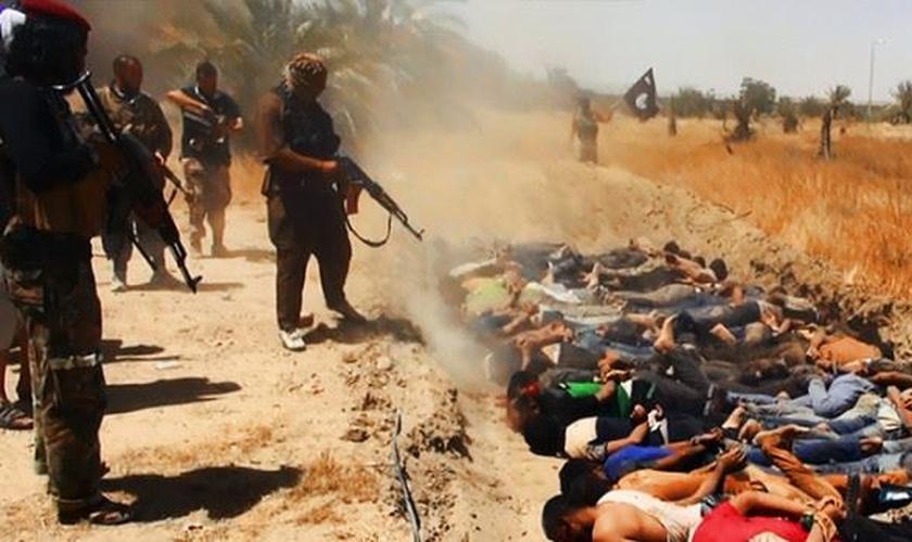 Os cristãos que vivem no Oriente Médio enfrentam grandes perseguições. (Foto: Reprodução)