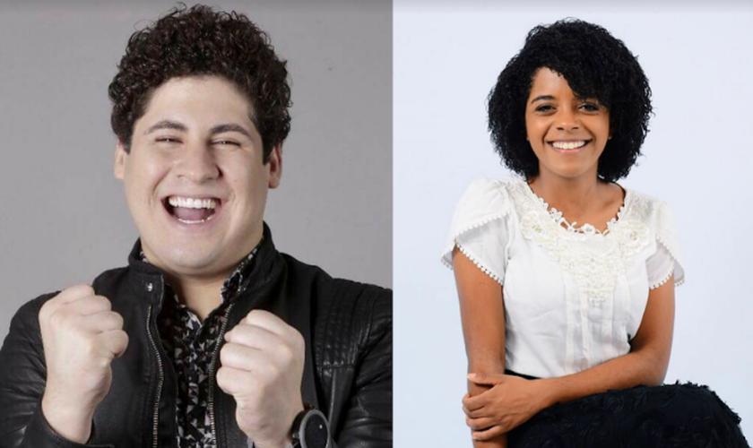 A canção tem participação de Kemily Santos, uma das principais cantoras da música pentecostal no Brasil. (Foto: Reprodução).