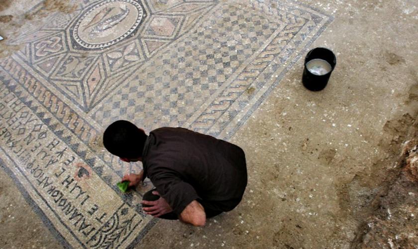 As ruínas foram encontradas no Armagedom, local da batalha entre o bem e o mal descrita em Apocalipse. (Foto: Reuters)