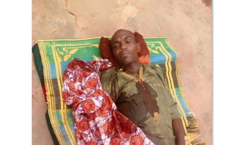 Pastor Hosea Akuchi morreu baleado. (Foto: Reprodução).