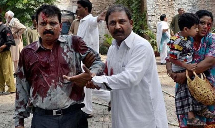 Foram registrados graves casos de violência contra cristãos no Paquistão. (Foto: Reprodução).
