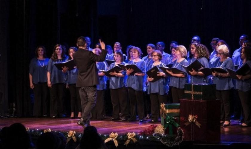 Hoje o coro é composto por 45 integrantes. (Foto: Reprodução).