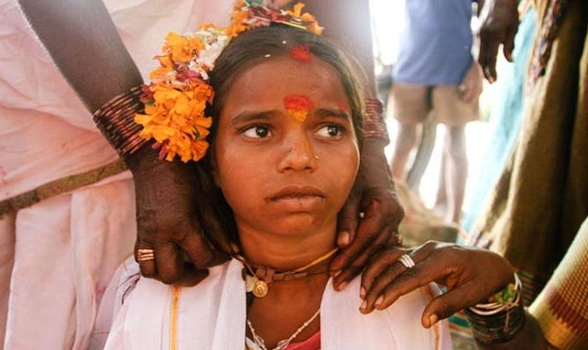 Ritual Devadasi recebe garotas como 'prostitutas sagradas' em templos hindus. (Foto: Your Story)