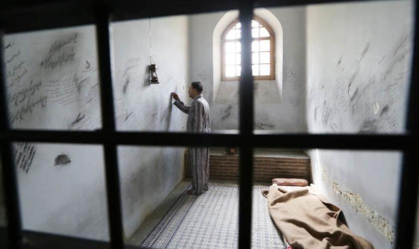 """A prisão de Evin, localizada no Irã, é conhecida como a """"fábrica de tortura"""" do país. (Foto: Reprodução)"""