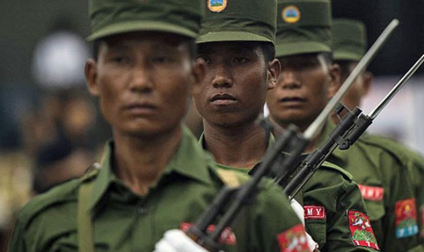 O grupo armado Exército do Estado Unificadom atua de forma independente. (Foto: AFP).