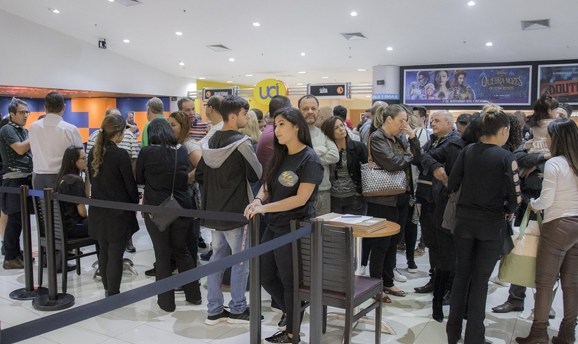"""""""Entrevista Com Deus"""" teve sua pré-estreia em São Paulo nesta terça-feira (30). (Foto: Guiame/Marcos Paulo Correa)"""