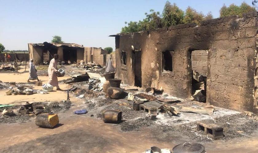 Desde 2000, pelo menos 11.500 cristãos foram mortos e 13 mil igrejas foram destruídas na Nigéria. (Foto: CNN/Nema)
