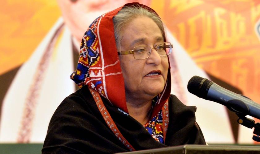 Sheikh Hasina, a primeira-ministra de Bangladesh. (Foto: Reprodução)