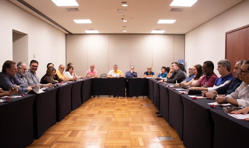 Membros do Conselho Apostólico Brasileiro (CAB) estiveram reunidos em Brasília. (Foto: Guiame/Marcos Paulo Corrêa)