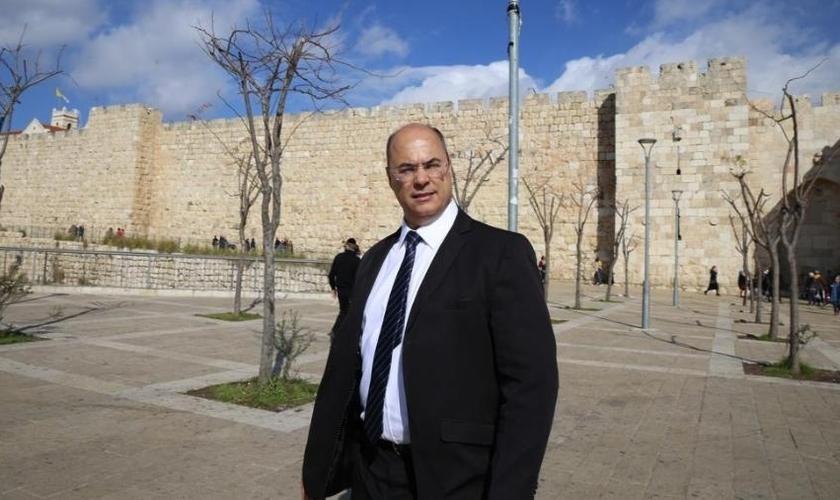Governador eleito do Rio de Janeiro, Wilson Witzel (PSC), em visita a Israel. (Foto: Ricardo Minussi/Divulgação)
